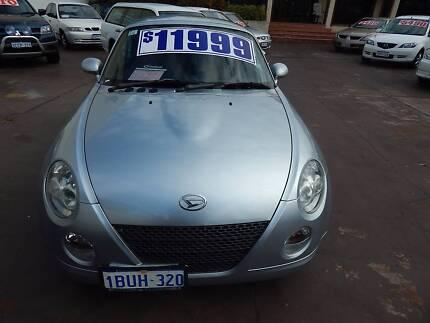 2004 Daihatsu Copen Convertible **RARE LOW KM,S** Victoria Park Victoria Park Area Preview