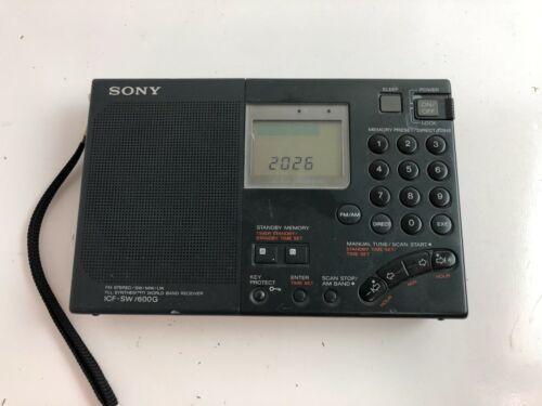 Sony World Band Reciever (ICF-SW7600G) AM/FM/SW/LW Radio