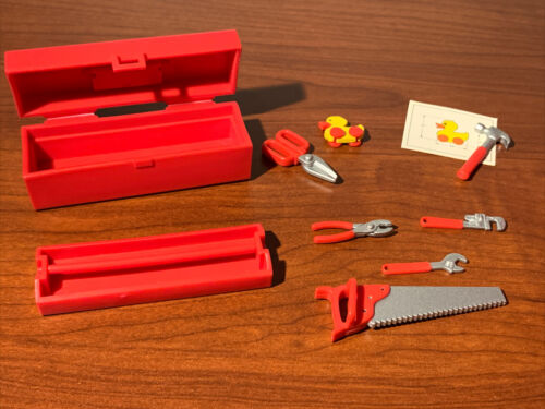 Mattel Barbie Special Collection Ken Tool Box Set 1998 Loose Complete Unused - $19.99