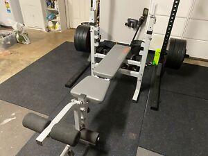 York 530 gym bench