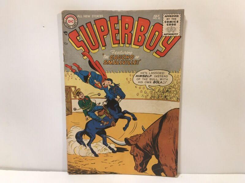 DC Cpmics Superboy #42 1955 VG