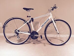Woman's Specialized Road and commute Bike