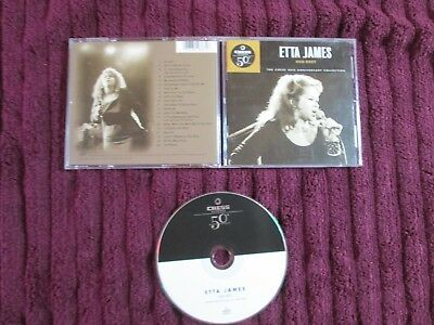 ETTA JAMES--Her Best--Chess Anniversary Collection--CD--20