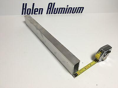 1 X 1.5 X 18 60 Rectangular Aluminum Tubing