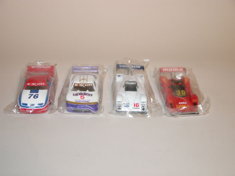 1995 EXXON RACE CAR CARRIER 4 EXTRA VEHICLES 4th IN A SERIES CHINA MINT