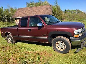 2001 Silverado for parts