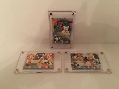 Ty Beanie Babies Collectors Cards - Framed Issued Cards