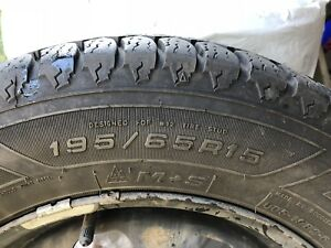 Goodyear Winter Tires and Rims  (195/65R15)