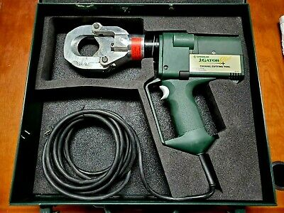 Greenlee Gator Plus Csg50gl Corded 6 Ton Cable Cutter Lightly Used