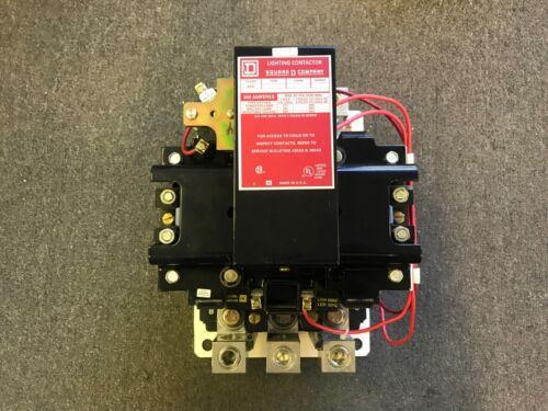SQUARE D LIGHTING CONTACTOR 300 AMP 600V 120V COIL 8903SX014