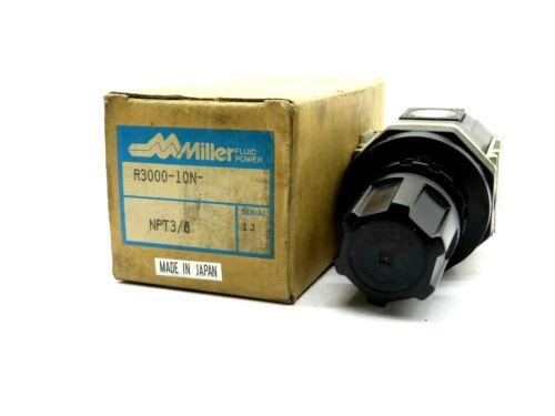 NEW MILLER R3000-10N REGULATOR NPT 3/8 R300010N