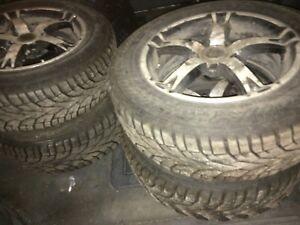 Winter tires rims gislaved ice 195 65 r15 pneus d'hiver jantes