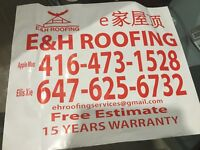 Roofing business, Free estimate 4164731528