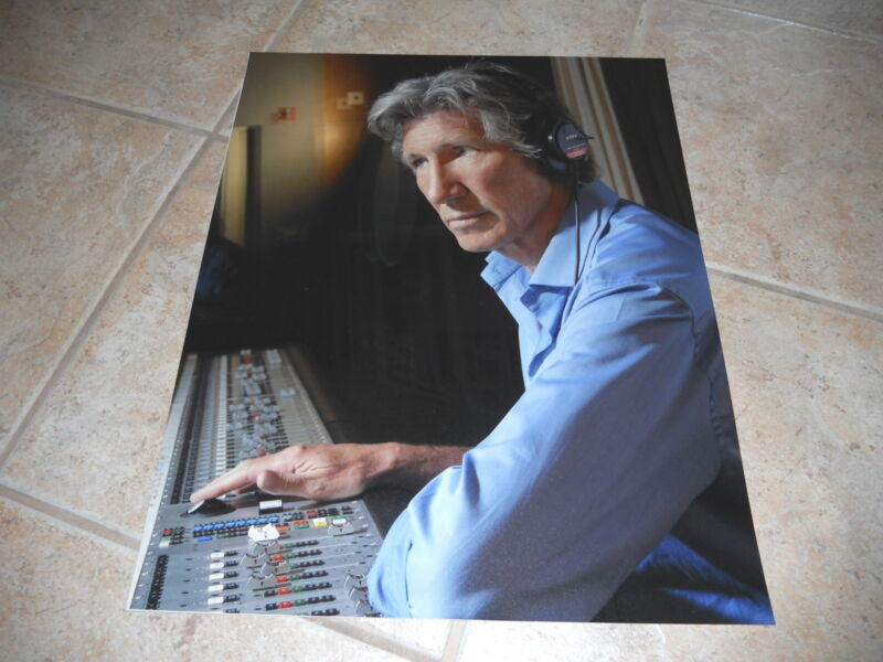 Roger Waters New Promo Pink Floyd The Wall Huge 16x20 High Quality Photo