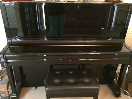 Kawai K-50 Upright Piano with stool Jerrabomberra Queanbeyan Area Preview