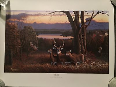 "John Deere ""Bucks' Bluff"" Limited Edition Print"