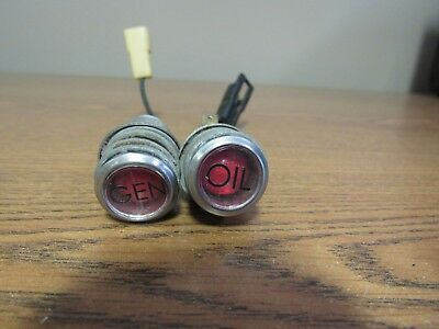 John Deere 3020 4020 Tractor Generator Oil Indicator Lights  0146