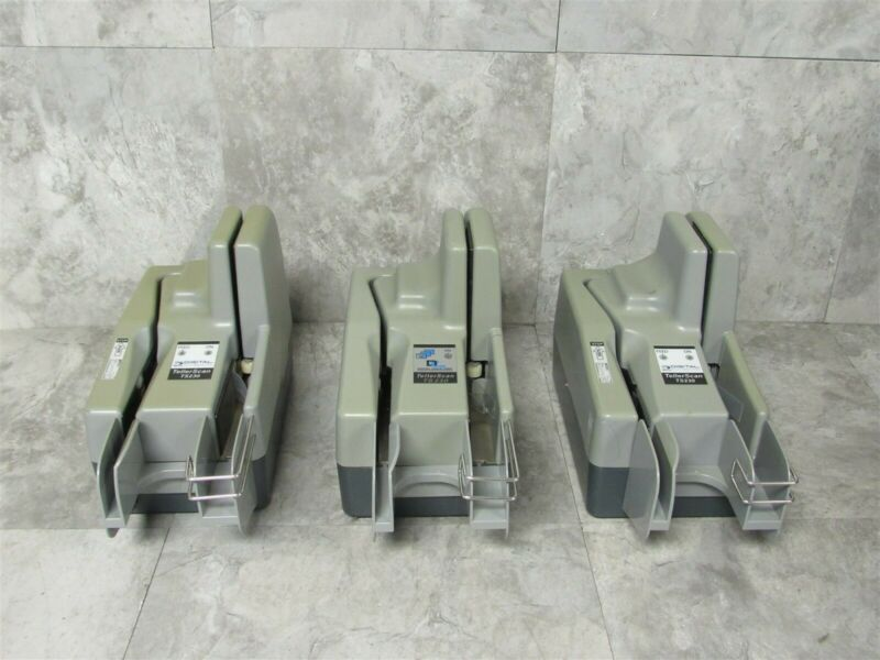 Lot of 3 Digital Check TellerScan 230 Check Scanners! TS230!