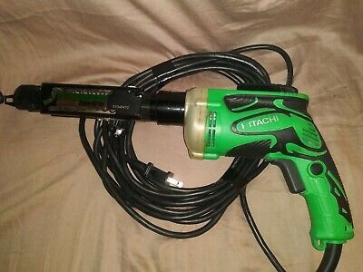 Hitachi Drywall Screw Gun W6v4with The Super Drive Adapter