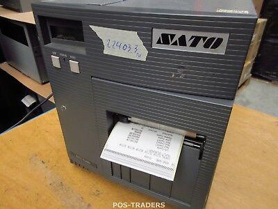 """SATO CL408E Parallel Thermo Label Drucker REWINDER 203dpi 4.1"""" 104mm - 22403.3 M"""