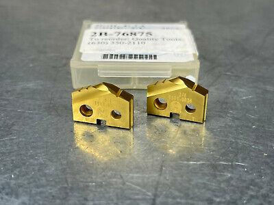 2 Amec 34 Spade Drill Insert Super Cobalt 1 T-a Allied 151t-0024