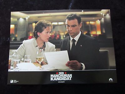 The Manchurian Candidate lobby cards/stills - Denzel Washington, Meryl Streep