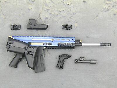 1/6 scale toy Quarantine Zone Agent - Black & Blue Scar-L w/Accessory Set