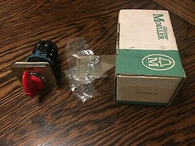 Klockner-moeller T2-3-15259e-na Rotary Switch Red Onoff