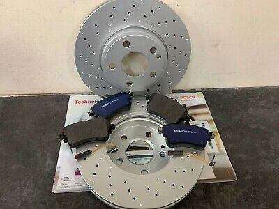 A180CDi A180 CDi 04 W169 Front Drilled Brake Discs