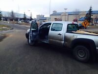 Drive my truck from whyte ave area to Southgate area