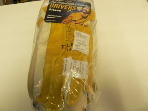 Tillman 1414 Top Grain/Split Cowhide Drivers Gloves Large Buying 12 pairs