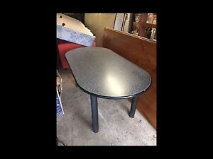 Black Melamine Dining Table Gladesville Ryde Area Preview