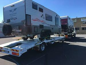 2014 Hino 1426 Tilt Tow Truck and Tag Trailer with Loading Ramp Gnangara Wanneroo Area Preview