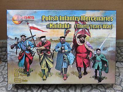 Mars 72033 , 1/72 Polish Infantry (30 Years War)