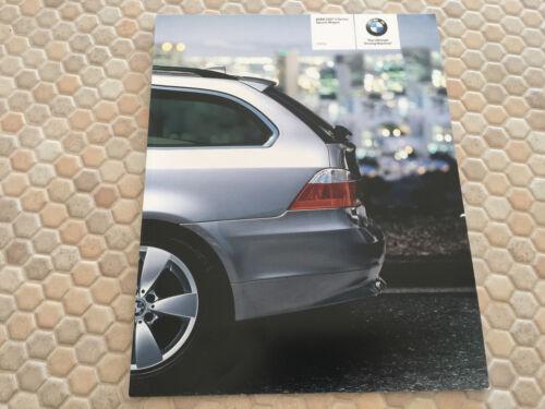BMW OFFICIAL 5 SERIES 530xi SPORTS WAGON PRESTIGE SALES BROCHURE 2007 USA Ed