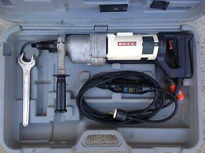 Edco Cardi T1 Mu-el A2 Hand Held 3 Speed Diamond Core Drill Concrete Coring