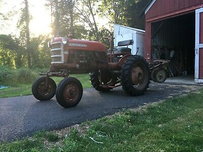 1963 Farmall Cub Tractor With Multiple Rare Quick-hitch Implements Included