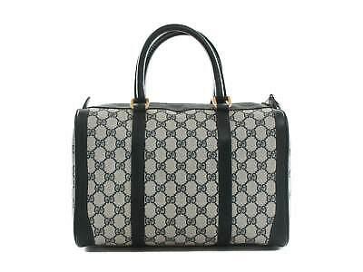 Authentic Vintage GUCCI Boston Doctor Bag Satchel Purse Handbag Top Handle