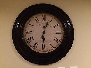 "New 23"" wall clock"