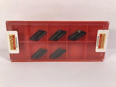 Sandvik Knux 16 04 10l12 New Carbide Inserts Grade 4325 5pcs