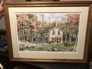 **Limited Edition** Autumn Retreat Painting