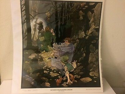 Berni Wrightson Bad Doin's In Knuckledowns Lonesome Print Signed & Numbered