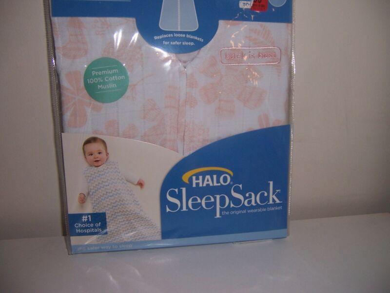 Halo sleepsack searable blanket 100% cotton muslin  New size small flowers