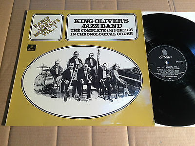 KING OLIVER'S JAZZ BAND - EARLY JAZZ MOMENTS VOL. 1 - COMPLETE 1923 OKEHS -- LP