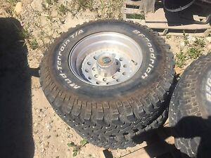 8 bolt chevy rims and tires