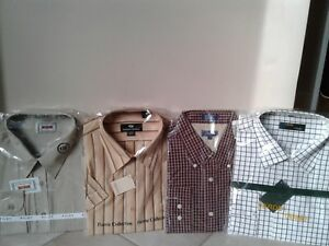 "Men's Dress Shirts /sizes 16.5"" - 18.5"" collar"