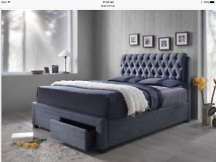 Kick Queen  Bed Frame