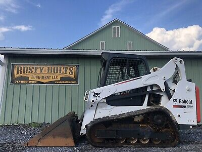 2016 Bobcat T590 Compact Track Skid Steer Loader Clean Low Cost Shipping