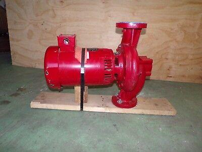 New Hot Water Circulating Pump Baldor Reliance Super-e Electric Motor Hp 7.5