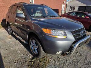 2008 Hyundai Santa Fe LOW Kilometers!!! SRoof, Leather! GLS 5-Pa